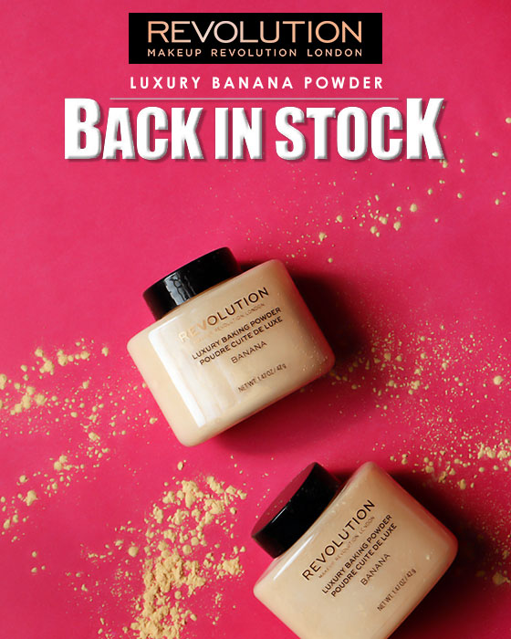 Banana Powder BACK IN STOCK!
