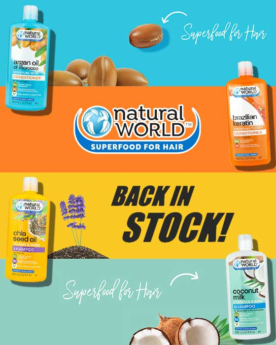 Natural World BACK IN STOCK!