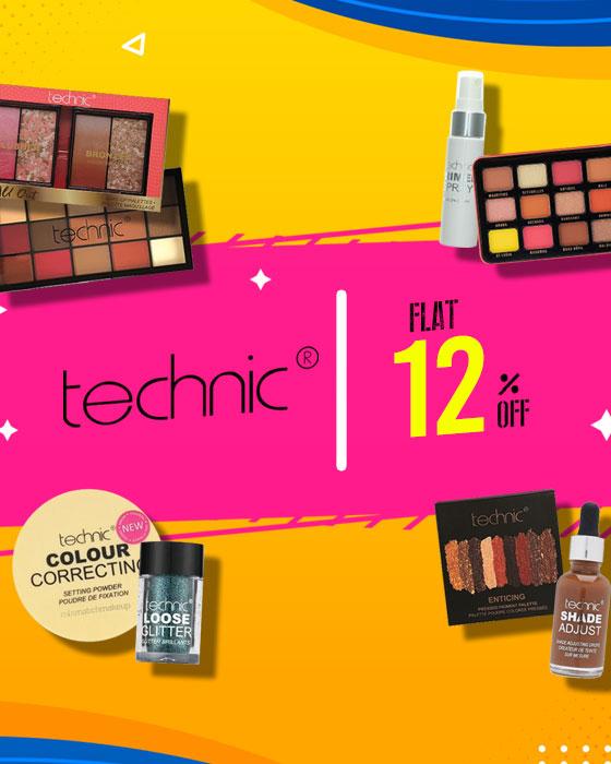 Flat 12% off on Technic!!!