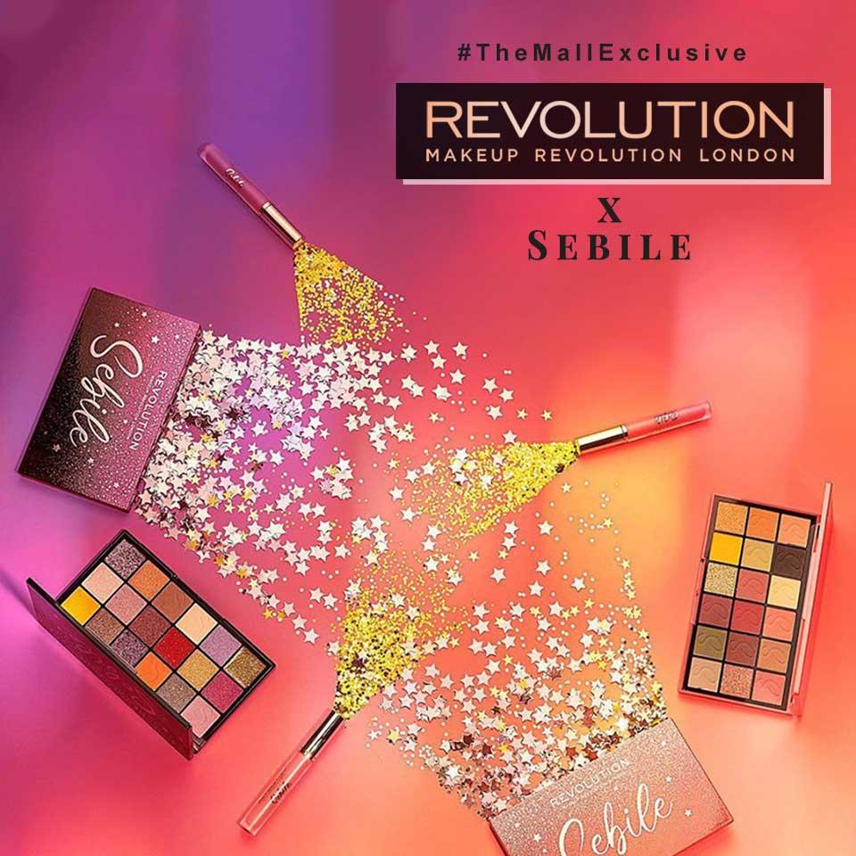 Makeup Revolution x Sebile!