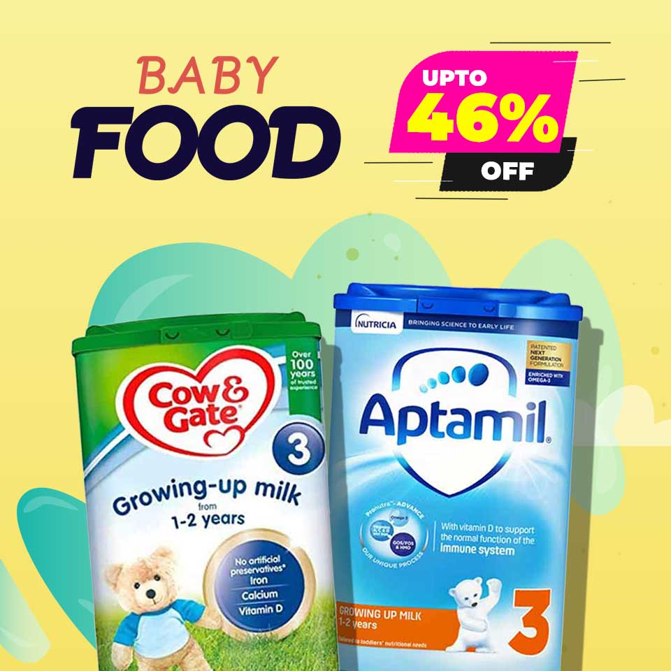 Upto46% Off on Baby Food!!!