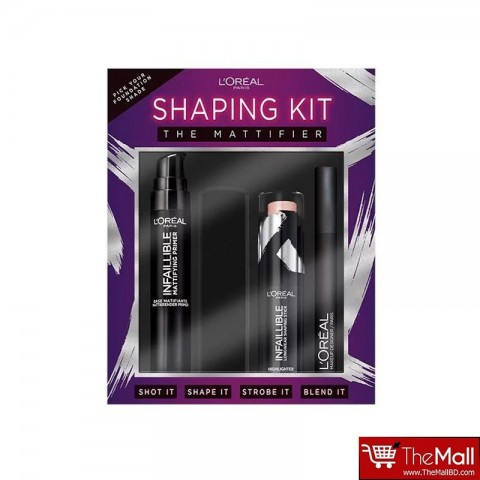 L'Oreal Paris The Mattifier Base Shaping Kit
