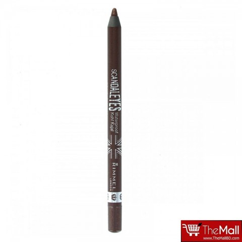 Rimmel Scandaleyes Waterproof Kohl Kajal Liner - 003 Brown