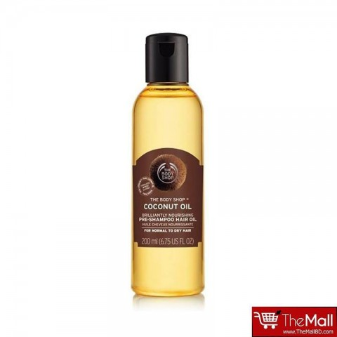 The Body Shop Coconut Oil Brilliantly Nourishing Pre-Shampoo Hair Oil 200ml