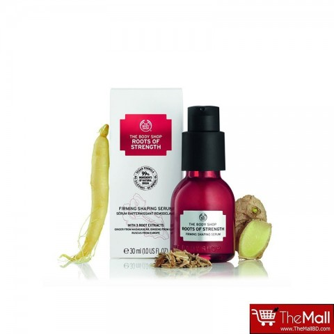 The Body Shop Roots Of Strength Firming Shaping Serum 30ml