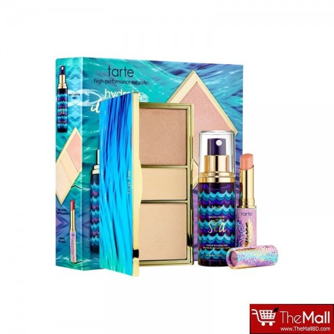 Tarte Hydrate, Illuminate, Glow Beauty Essentials Set - Rainforest of the Sea