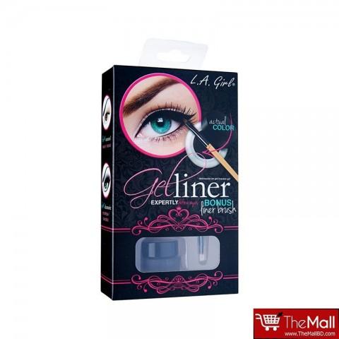 L.A. Girl Gel Liner Kit -  GEL722 Very Black