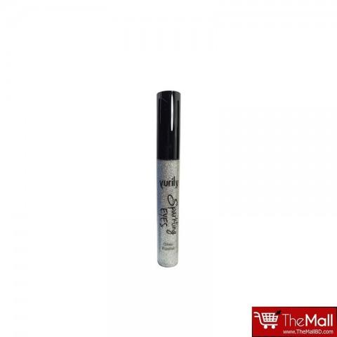 Yurily Sparkling Eyes Glitter Eyeliner 10g - Silver