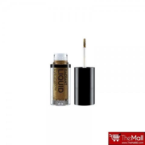 NICKA K Radiant Liquid EyeShadow - NRE14 Golden Gemma