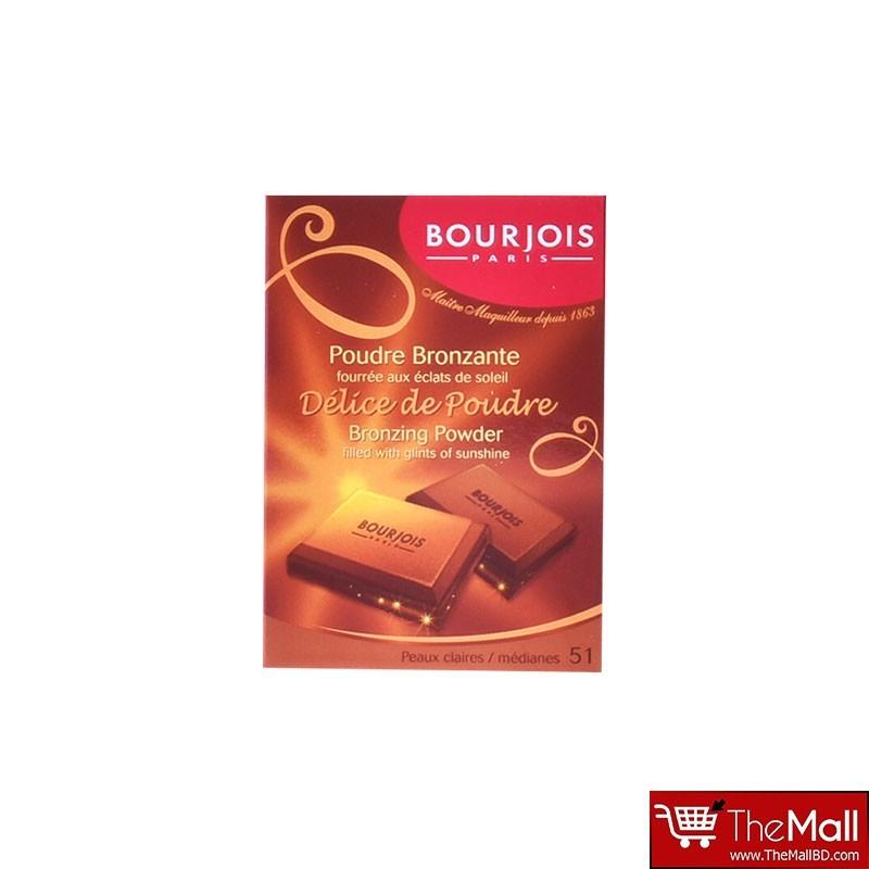 Bourjois Delice De Poudre Bronzing Powder - 51 Peaux Claires