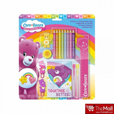Care Bears Deluxe Stationery Set