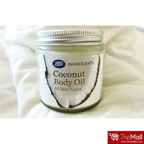 Boots Ingredients Coconut Body Oil 100ml