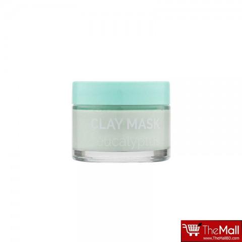 Derma V10 Purifying Eucalyptus Facial Face Clay Mask 50ml