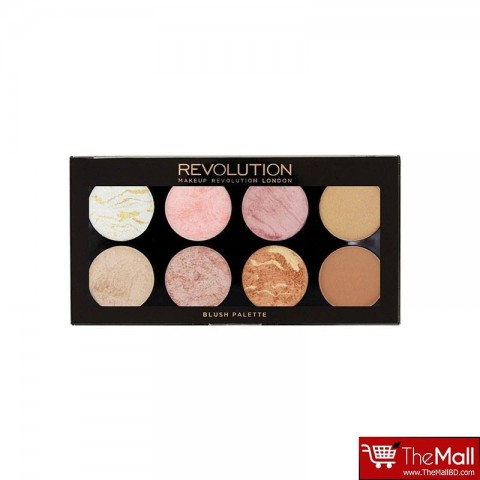 Makeup Revolution Blush Palette Golden Sugar