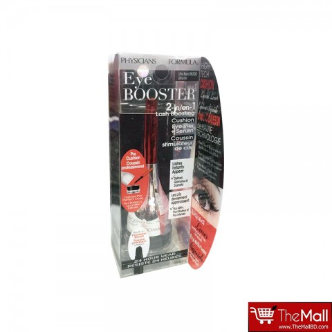 PHYSICIANS FORMULA Eye Booster 2- in -1 Lash Boosting Cushion Eyeliner + Serum - Ultra Black