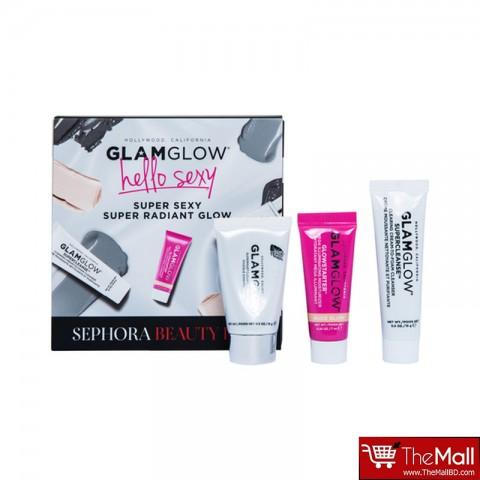 Sephora Glam Glow Super Sexy Super Radiant Skin 3 Piece Set