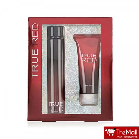 M&S True Red Body Lotion + Eau De Toilette Gift Set