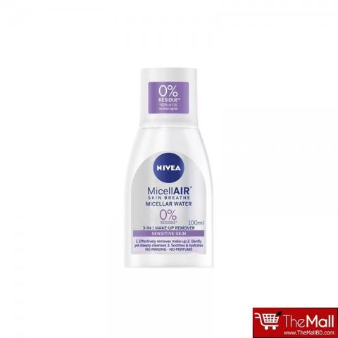 Nivea Micellair Skin Breathe 3 in 1 Make Up Remover Micellar Water 100ml