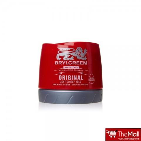 Brylcreem Original Pot Hair Cream Light Glossy Hold 250ml
