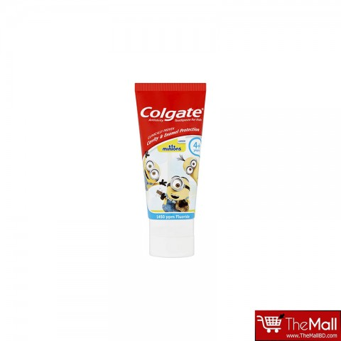 Colgate Toothpaste Minion 4+ Years Cavity & Enamel Protection -50ml