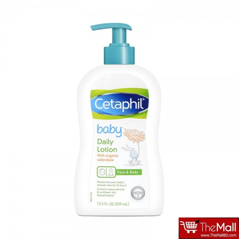 Cetaphil Baby Face & Body Daily Lotion With Organic Calendula 399ml