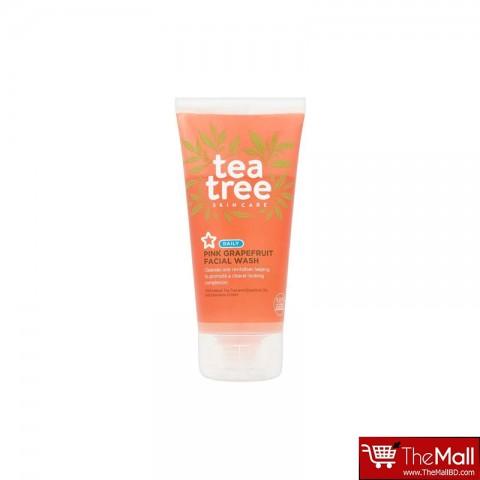 Superdrug Tea Tree Pink Grapefruit Facial Wash 150ml