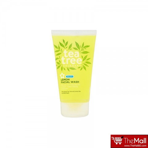 Superdrug Tea Tree Lemon Facial Wash 150ml