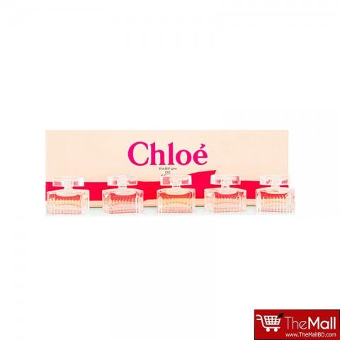 Chloe Perfume De Roses Miniature Gift Set For Women