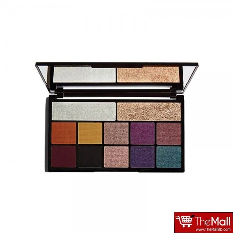 Makeup Revolution Kiss Of Fire Carmi Eyeshadow And Highlighter Palette