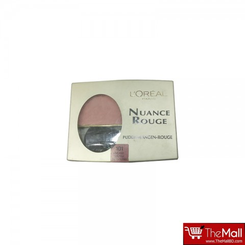 L'oreal Nuance Rouge  Powder Blush - 101 Bois De Rose