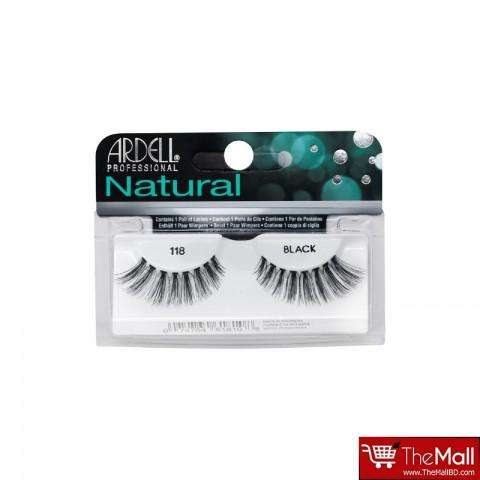 Ardell Natural False Eyelashes - 118 Black