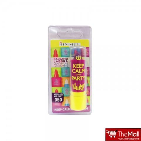 Rimmel Keep Calm And Party Lip Balm 3.8g - 050 Violet Blush