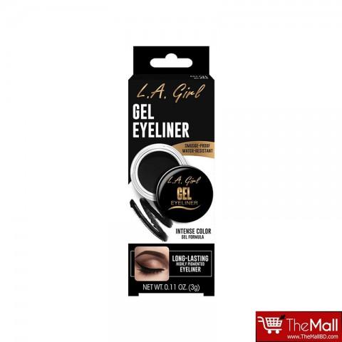 L.A. Girl Gel Eyeliner 3g - GEL731 Jet Black