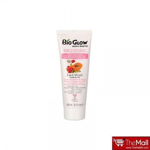 Bio Glow Brightening  Enhancing Pomegranate & Vitamin Complex Face wash - 100ml
