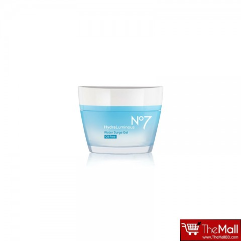 No7 HydraLuminous Water Surge Gel Oil Free 50ml
