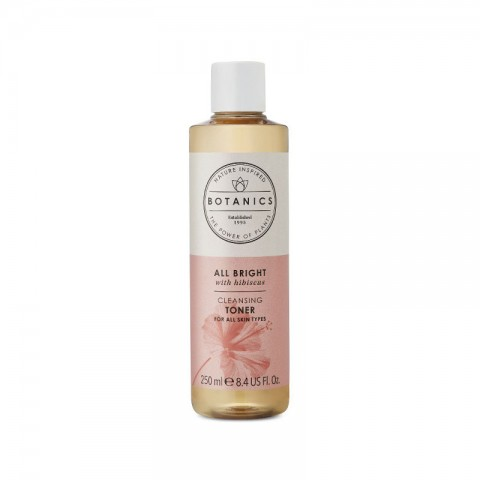 Boots Botanics All Bright Cleansing Toner For All Skin Types 250ml