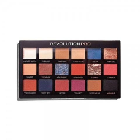 Makeup Revolution Pro Regeneration Eyeshadow Palette - Trends Azure
