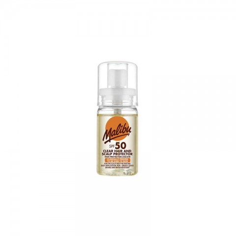 Malibu Clear Hair And Scalp Protector Spf 50 - 50ml