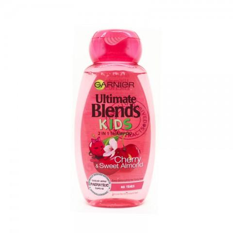 Garnier Ultimate Blends kids 2 In 1 Shampoo 250ml -Cherry & Sweet Almond