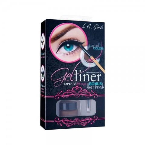 L.A. Girl Gel Liner Kit -  GEL724 Brown