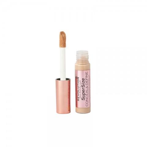 Makeup Revolution Supersize Conceal & Define Full Coverage Concealer 13g - C6
