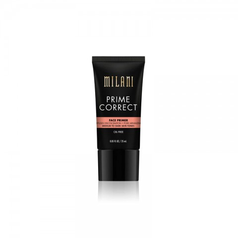 Milani Prime Correct Face Primer For Medium To Dark Skin Tones 25ml - 05