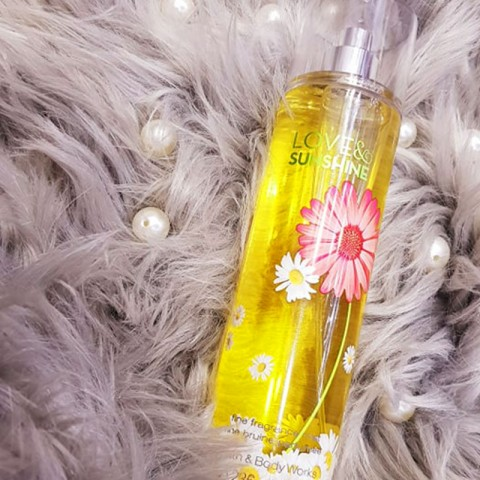 Bath & Body Works Love & Sunshine Fine Fragrance Mist 236ml