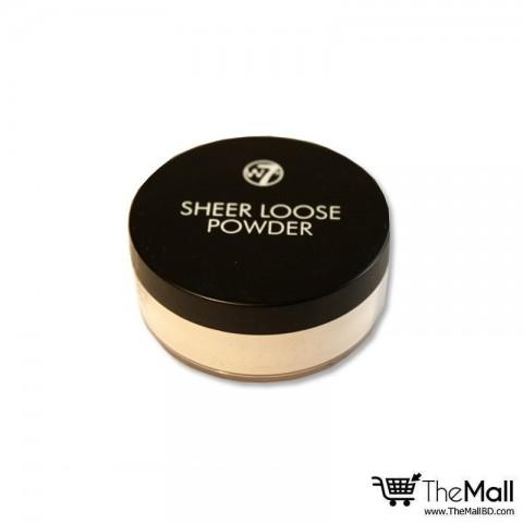 W7 Sheer Loose Powder - Natural Beige