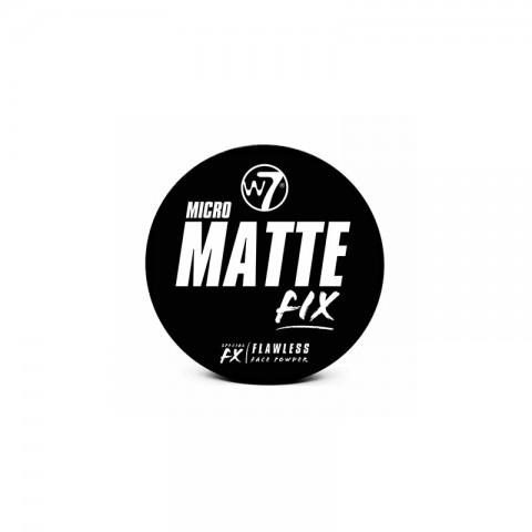 W7 Micro Matte Fix Flawless Face Powder 6g - Fair
