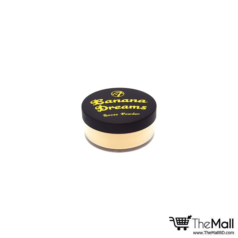 W7 Banana Dreams Loose Face Powder 20g