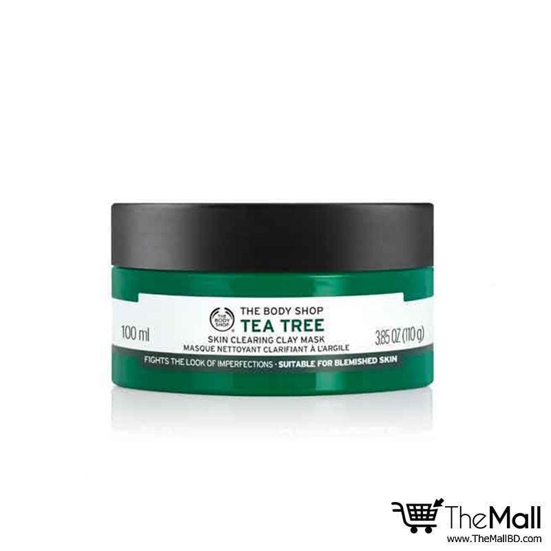 The Body Shop Tea Tree Skin Clearing Clay Mask 100ml