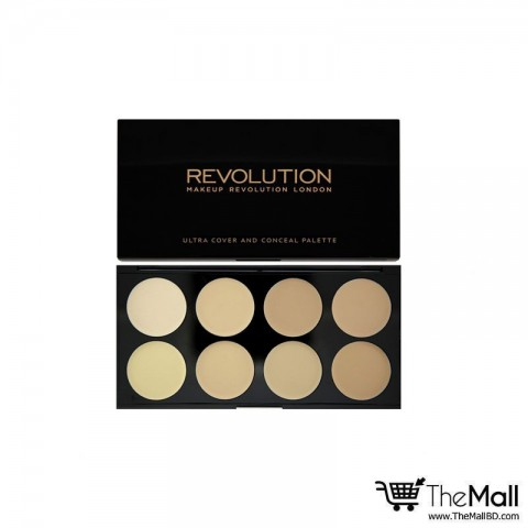 Makeup Revolution Ultra Cover and Conceal Palette - Light