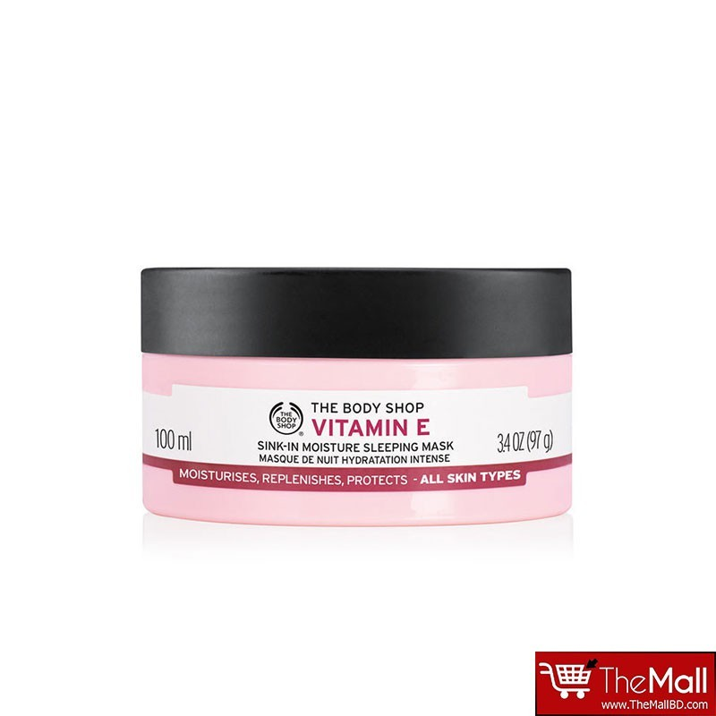 The Body Shop Vitamin E Sink in Moisture Sleeping Mask 100ml