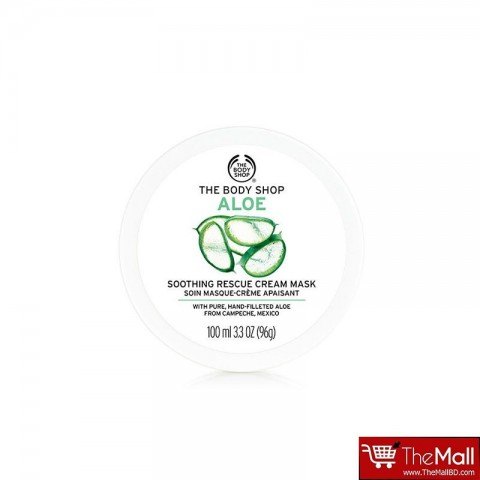 The Body Shop Aloe Soothing Rescue Cream Mask 100ml
